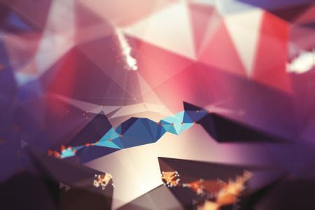 三角几何背景高清背景图片素材下载