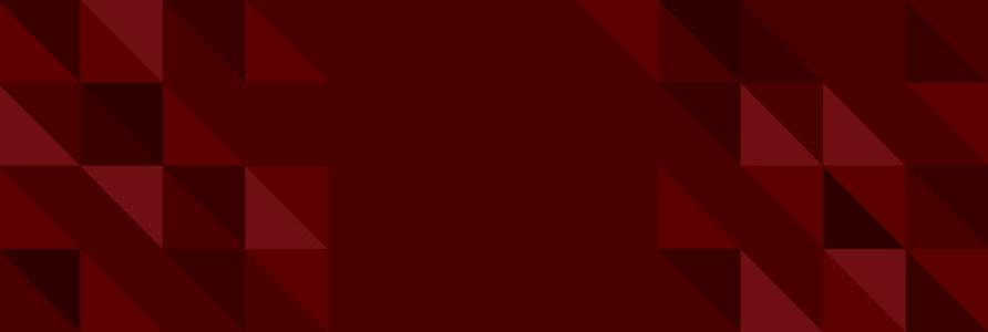 巧克力色几何形banner背景