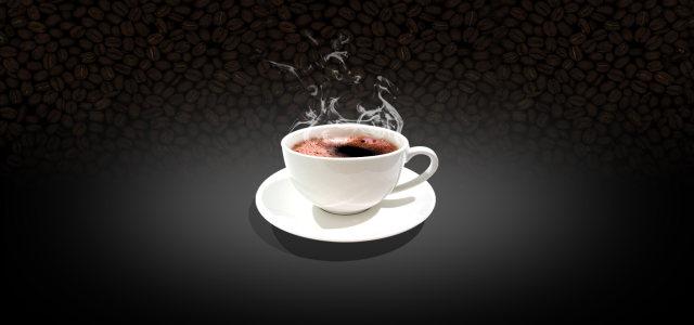咖啡杯背景