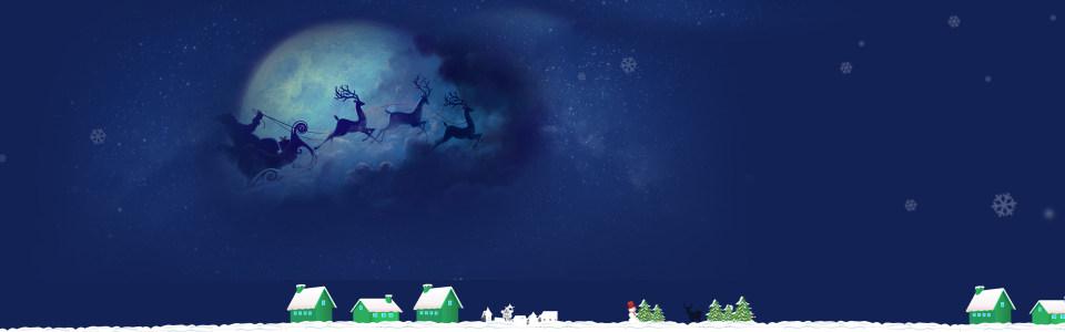 圣诞淘宝背景图