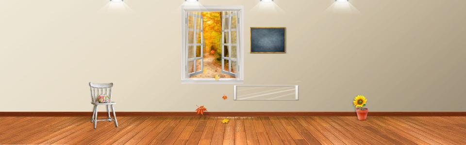 室内文艺背景