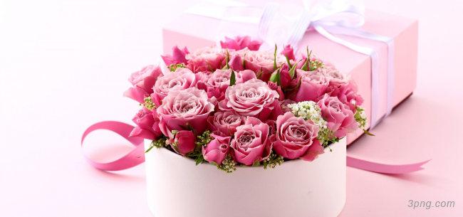 花束礼盒背景背景高清大图-花束背景鲜花