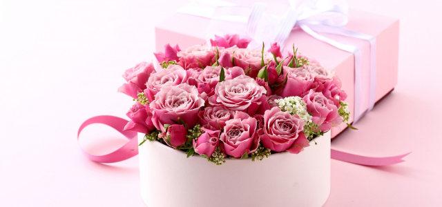 花束礼盒背景高清背景图片素材下载
