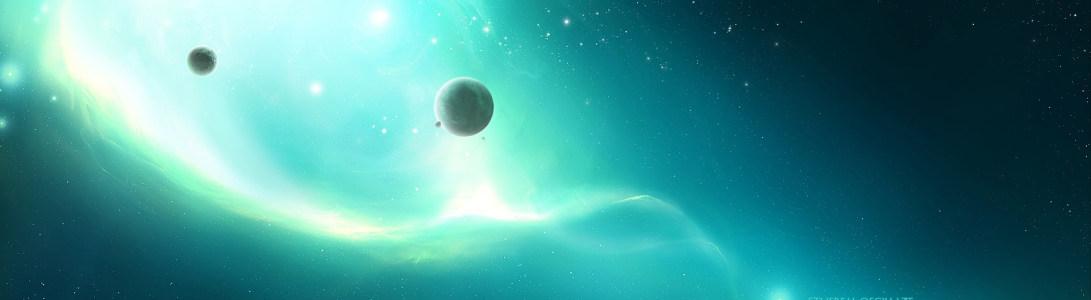星空唯美浪漫大气背景图
