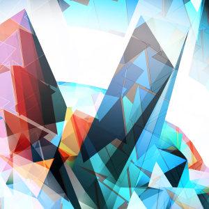 几何图形抽象矢量背景高清背景图片素材下载