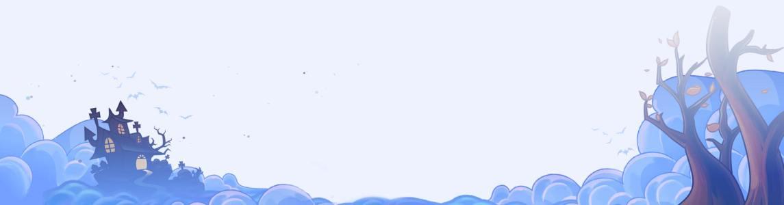 卡通城堡背景大图banner