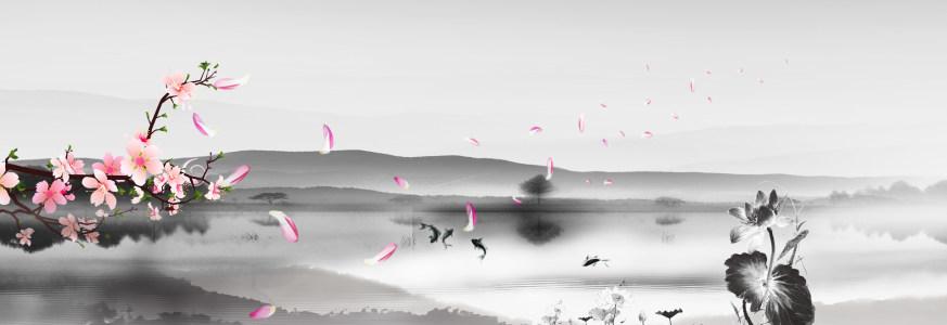 中国风背景海报高清背景图片素材下载