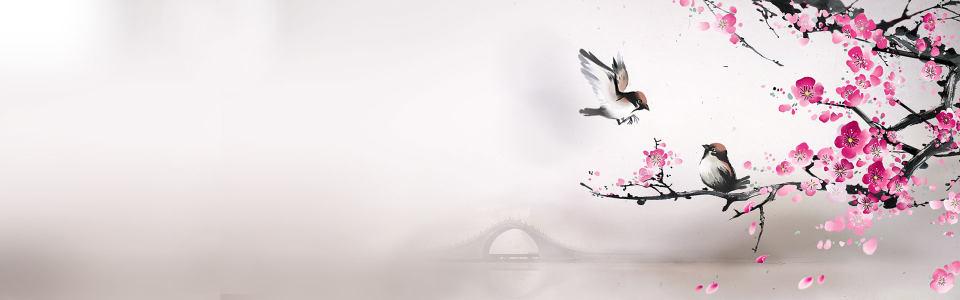 中国风背景banner