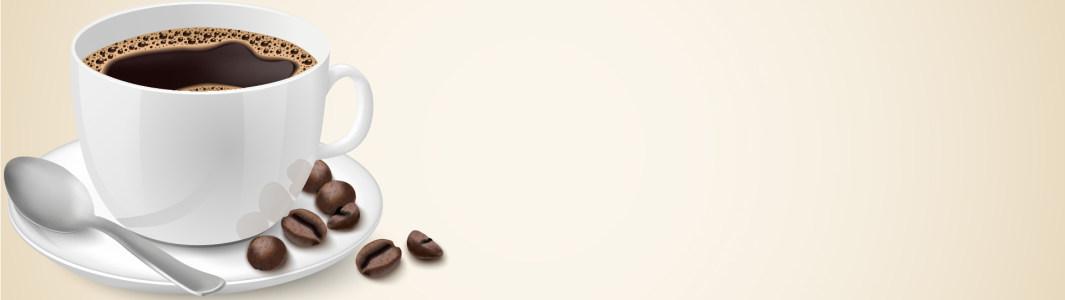 咖啡banner背景