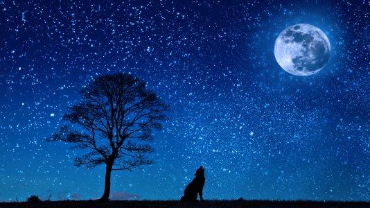 夜晚夜空背景
