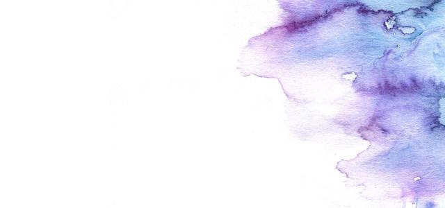 蓝紫色水渍背景