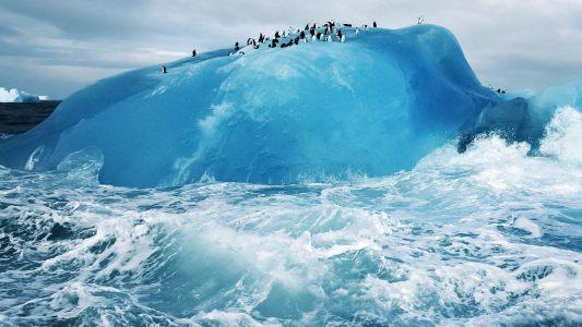 海浪海水背景