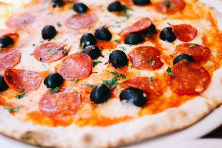 披萨高清背景