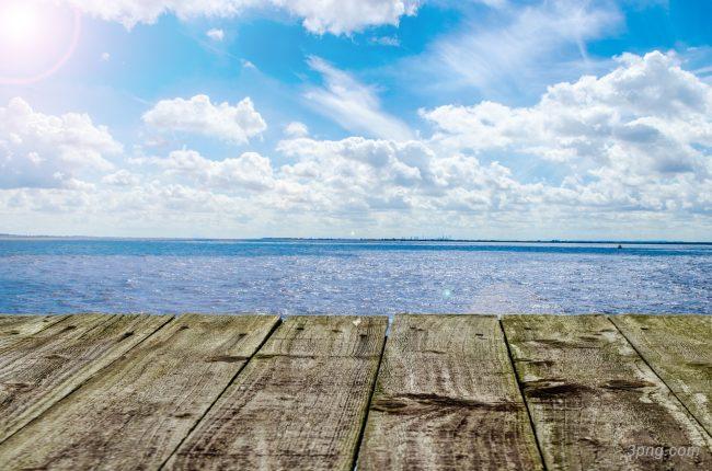 海滩风景背景背景高清大图-海滩背景底纹/肌理