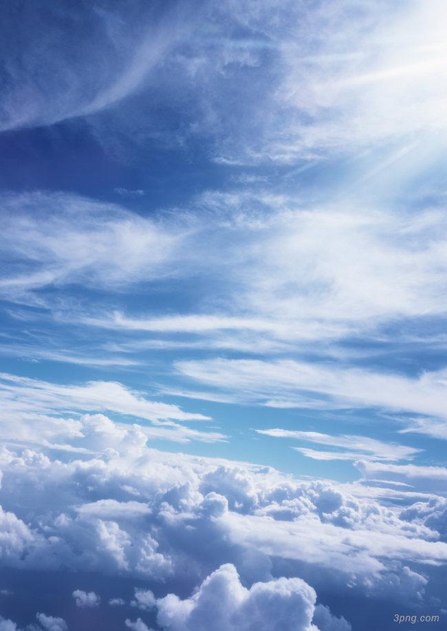 天空云层背景背景高清大图-云层背景城市建筑