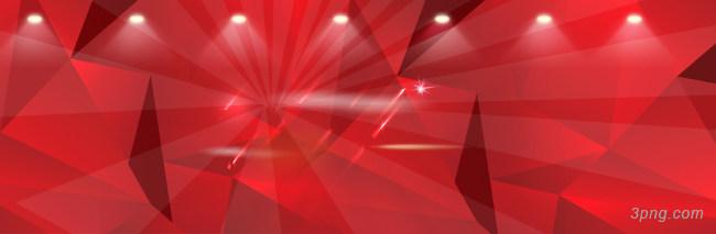 淘宝天猫双11红色几何大气背景背景高清大图-天猫背景扁平/渐变/几何