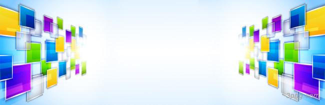 炫酷多彩几何通用百搭海报淘宝背景背景高清大图-淘宝背景扁平/渐变/几何