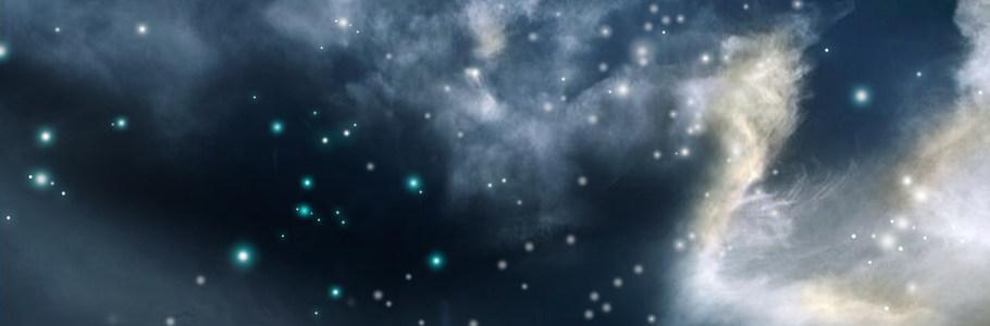 唯美星空淘宝海报背景高清背景图片素材下载