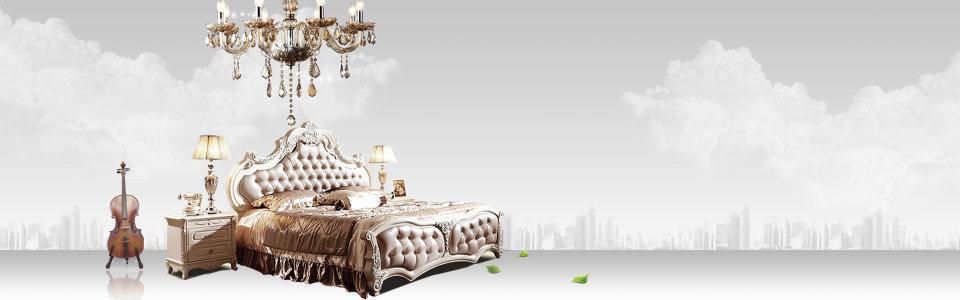 欧式家具背景海报高清背景图片素材下载