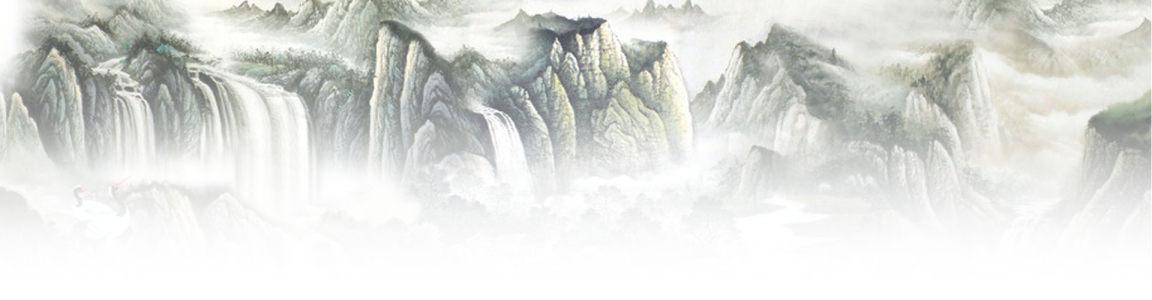 大气磅礴的banner背景图