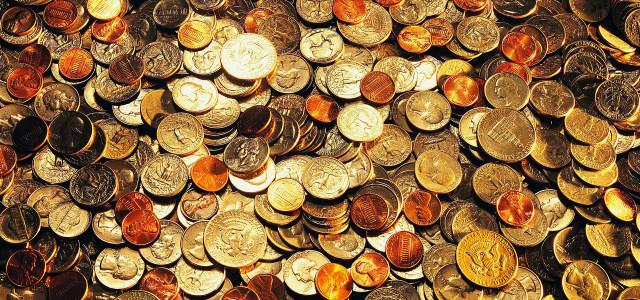各国金币背景