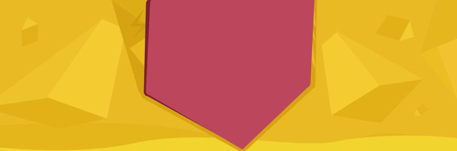 几何背景banner图