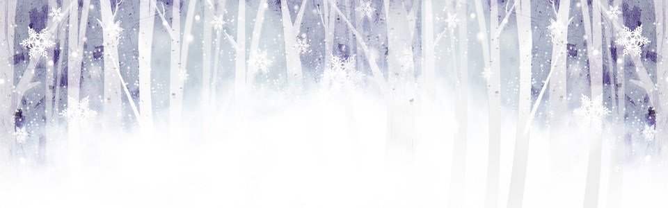 雪景背景图