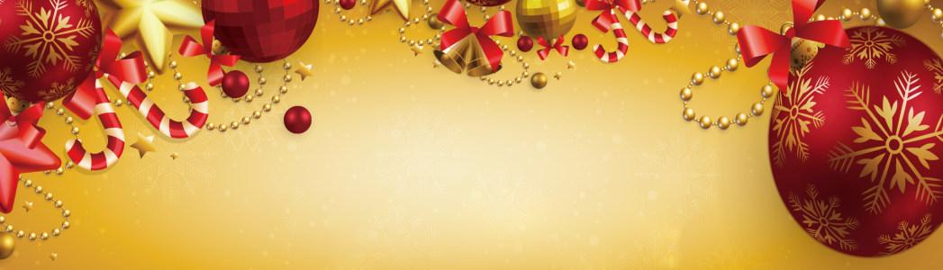 圣诞元旦banner高清背景图片素材下载