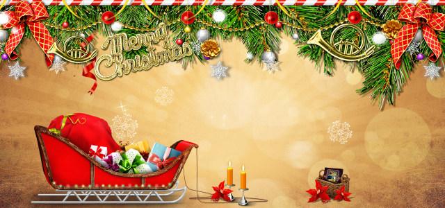 精美圣诞海报高清背景图片素材下载