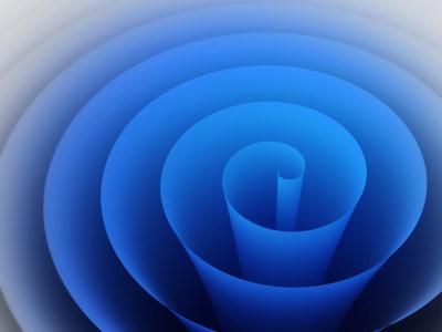 蓝色漩涡背景