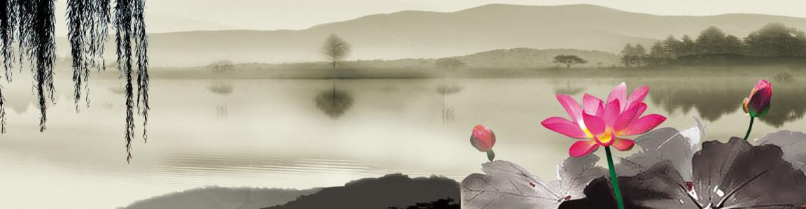 中国风山水高清背景图片素材下载