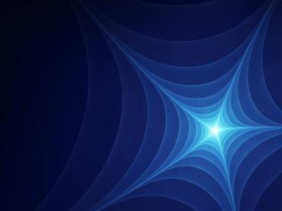 抽象蜘蛛网蓝色背景