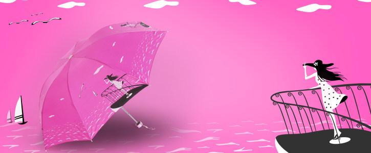 浪漫粉色背景