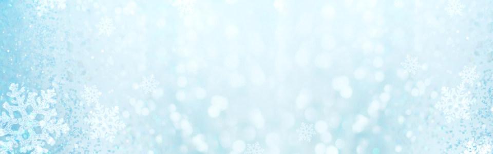 雪花质感冬季促销淘宝背景
