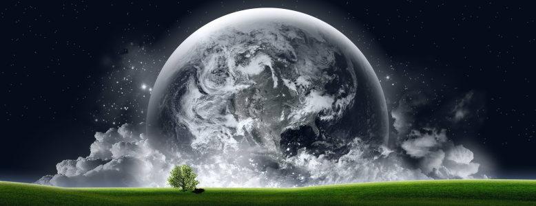 星球大气banner壁纸高清背景图片素材下载