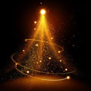 圣诞树光效效果