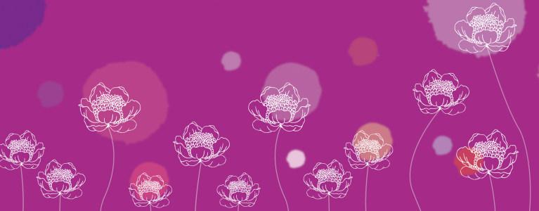 精美花卉植物banner背景高清背景图片素材下载