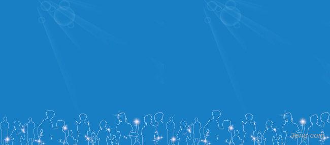 蓝色背景背景高清大图-背景背景科技/商务