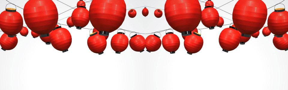 大红灯笼淘宝海报背景高清背景图片素材下载