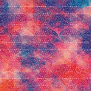 多彩几何线条背景