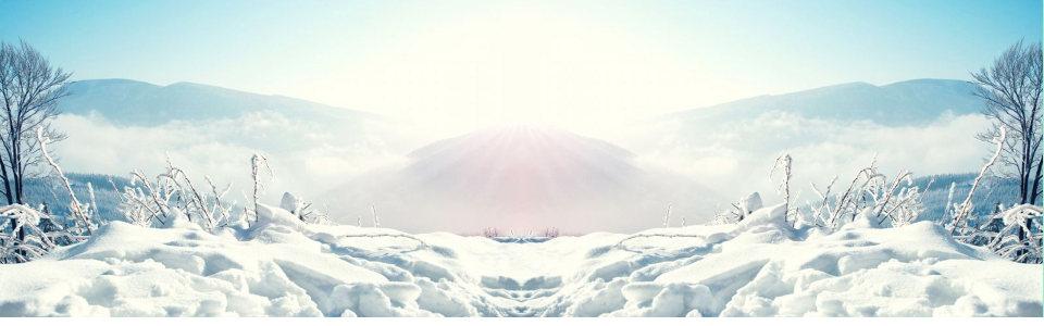 冬季阳光背景高清背景图片素材下载