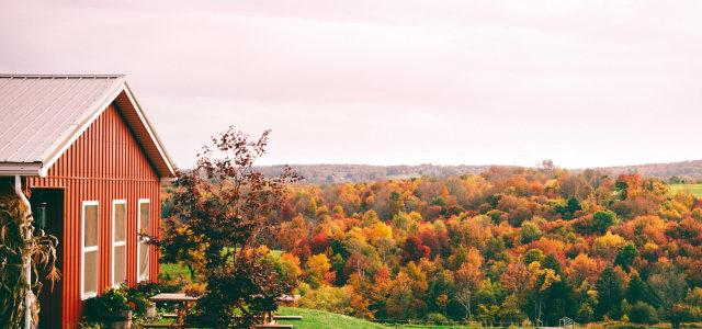 秋季旅游景区背景高清背景图片素材下载