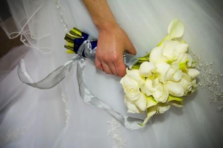 浪漫婚礼单品戒指花束背景