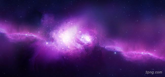 紫色梦幻星空星河背景高清大图-星河背景高光/光斑/星空