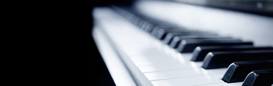 钢琴banner创意设计
