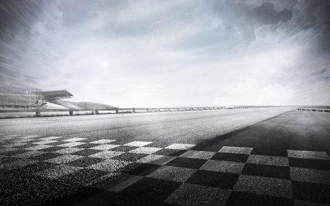 赛道路面背景