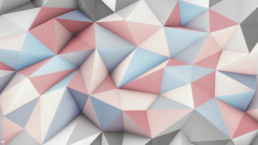 立体三角几何背景