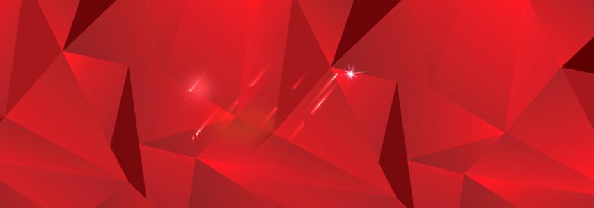 淘宝天猫双11红色几何图形背景高清背景图片素材下载