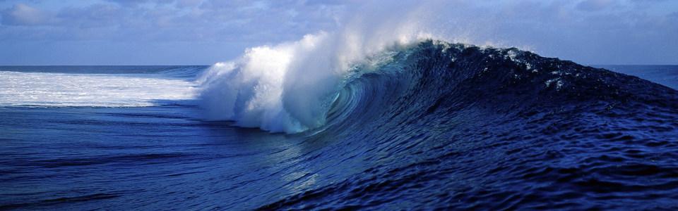 淘宝蓝色大海背景