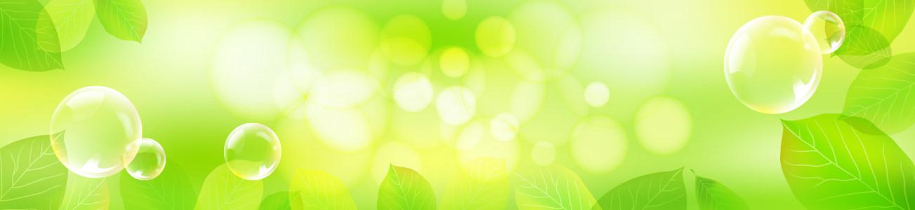 梦幻树叶背景